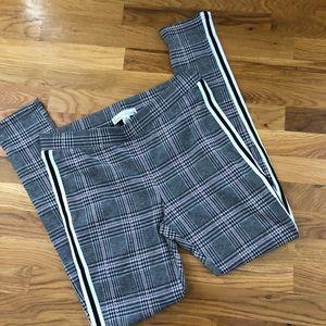 French Laundry Plaid Leggings / Joggers